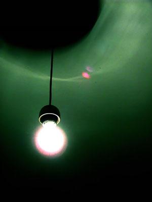 lampadina in verde