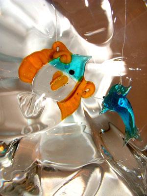 Pesci di vetro