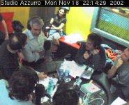 webcam dagli studi di via Massena
